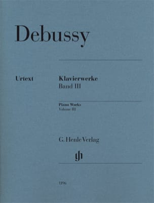 Oeuvre pour Piano Volume 3 DEBUSSY Partition Piano - laflutedepan