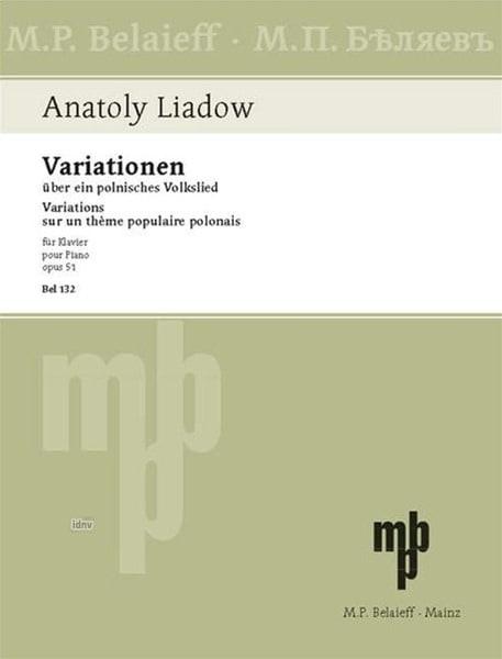 Variations sur un thème polonais Opus 51 - laflutedepan.com