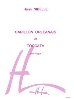 Carillon Orléanais et Toccata Henri Nibelle Partition laflutedepan