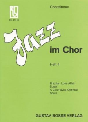 Jazz Im Chor Volume 4. - Partition - Chœur - laflutedepan.com