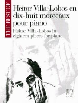 18 Morceaux Pour Piano VILLA-LOBOS Partition Piano - laflutedepan