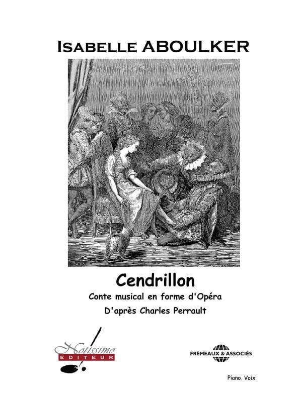 Cendrillon - Isabelle Aboulker - Partition - laflutedepan.com
