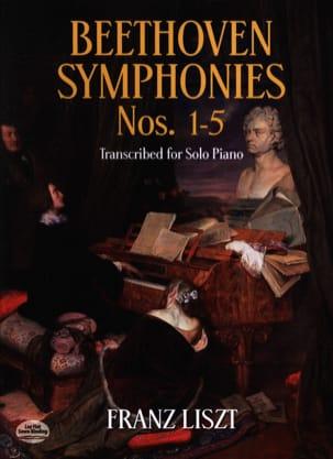 Symphonies Volume 1 BEETHOVEN / LISZT Partition Piano - laflutedepan