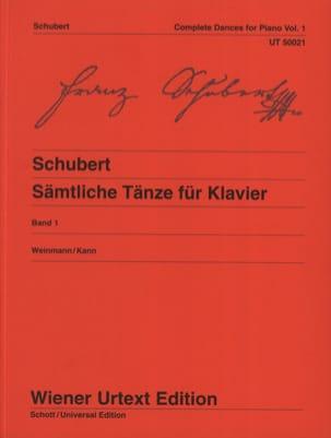 Danses pour piano. Volume 1 SCHUBERT Partition Piano - laflutedepan