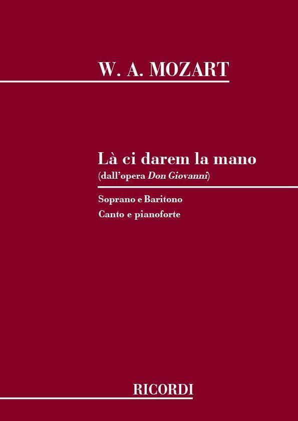 Là Ci Darem la Mano. Don Giovanni - MOZART - laflutedepan.com