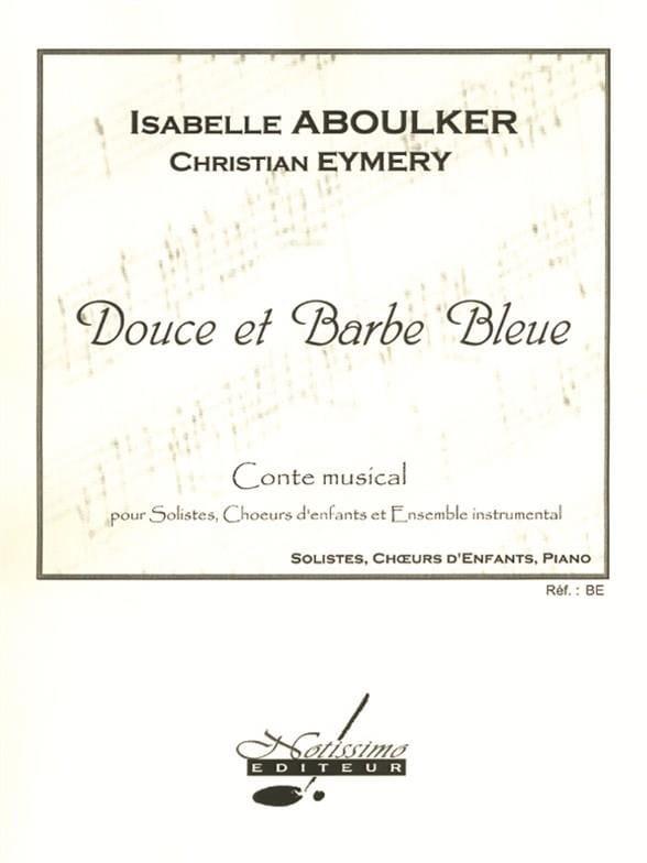 Douce et Barbe Bleue - Isabelle Aboulker - Partition - laflutedepan.be