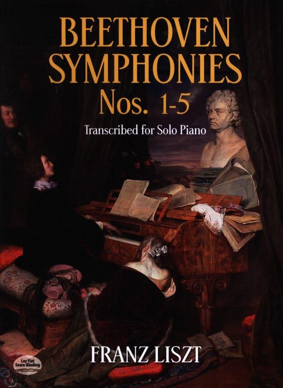 Symphonies Volume 1 - BEETHOVEN / LISZT - Partition - laflutedepan.com