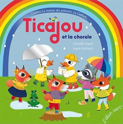 Ticajou et la chorale - Christelle Saquet - Livre - laflutedepan.com