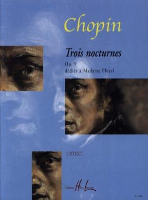 3 Nocturnes Opus 9 CHOPIN Partition Piano - laflutedepan