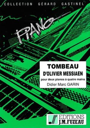 Tombeau D'olivier Messiaen. 2 Pianos Didier Marc Garin laflutedepan