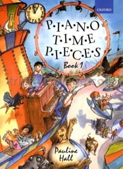 Piano Time Pieces Vol 1. Nouvelle édition - Hall - laflutedepan.com