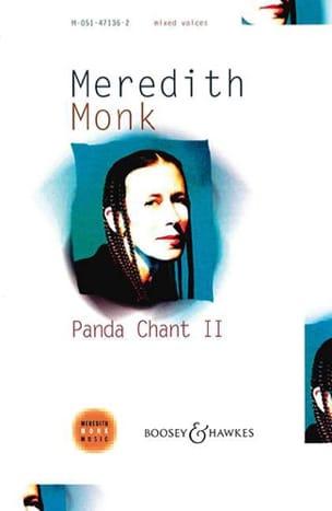 Panda Chant 2 Meredith Monk Partition Chœur - laflutedepan