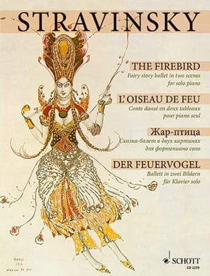 L'Oiseau de Feu 1909/10 STRAVINSKY Partition Piano - laflutedepan