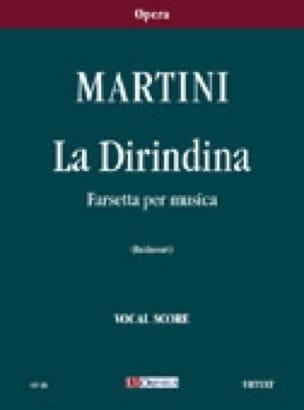 La Dirindina - Giambattista Martini - Partition - laflutedepan.com