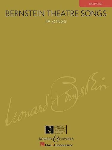 Bernstein Theatre Songs. Voix Haute - BERNSTEIN - laflutedepan.com