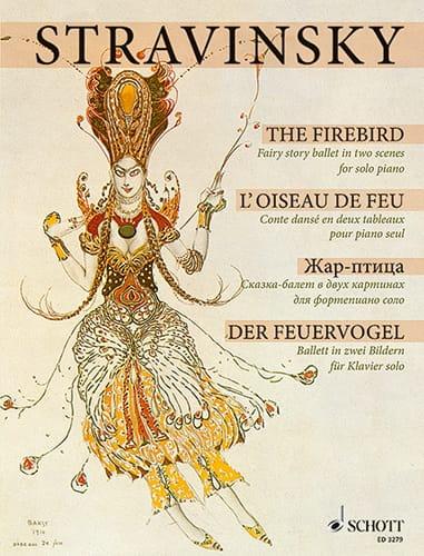L'Oiseau de Feu 1909/10 - STRAVINSKY - Partition - laflutedepan.com