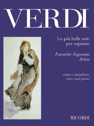 Le Piu Belle Arie Per Soprano. VERDI Partition Opéras - laflutedepan