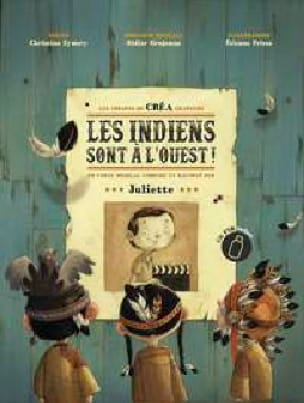 Les Indiens sont à l'Ouest - Juliette - Partition - laflutedepan.com