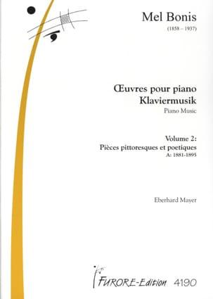 Oeuvres Pour Piano Volume 2 Mel Bonis Partition Piano - laflutedepan