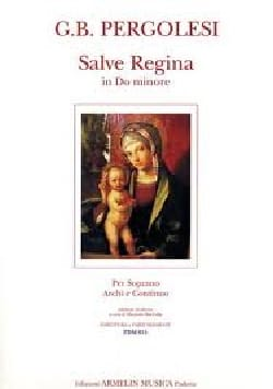 Salve Regina En Do Mineur PERGOLESE Partition laflutedepan