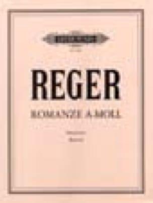 Romance En La Mineur - Max Reger - Partition - laflutedepan.com