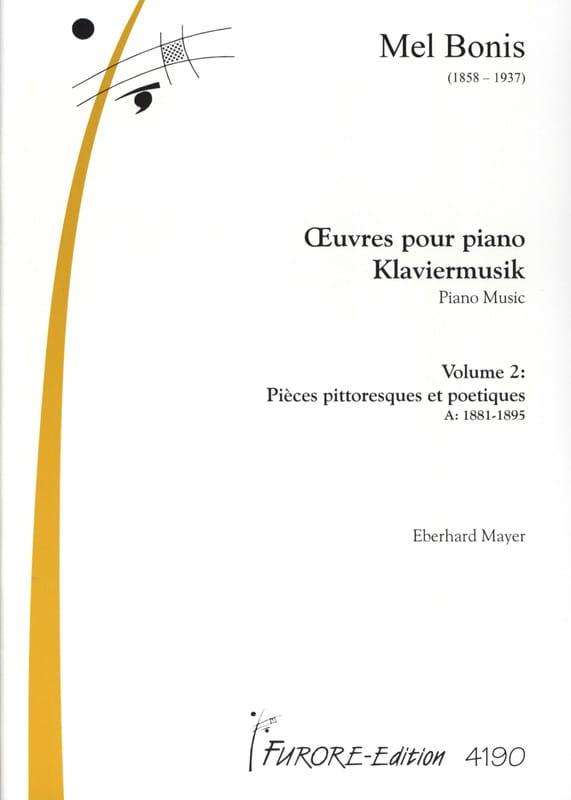 Oeuvres Pour Piano Volume 2 - Mel Bonis - Partition - laflutedepan.com