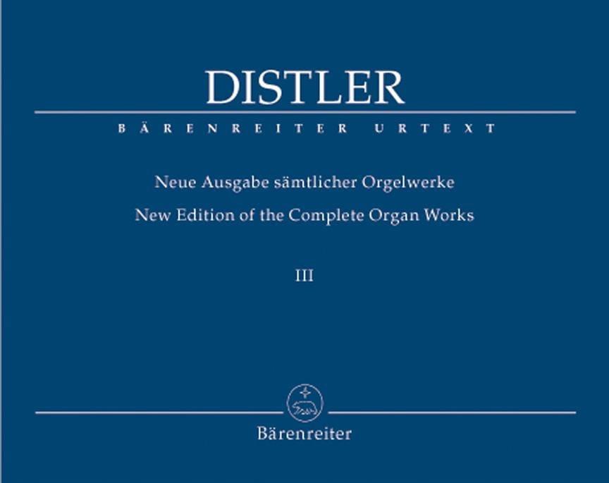 Neue Ausgabe Sämtlicher Orgelwerke Volume 3 - laflutedepan.com