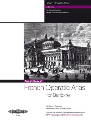 French Operatic Arias Baryton Partition Opéras - laflutedepan