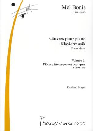 Oeuvres pour piano Volume 3 Mel Bonis Partition Piano - laflutedepan