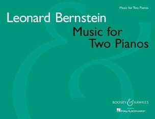 Music For Two Pianos BERNSTEIN Partition Piano - laflutedepan