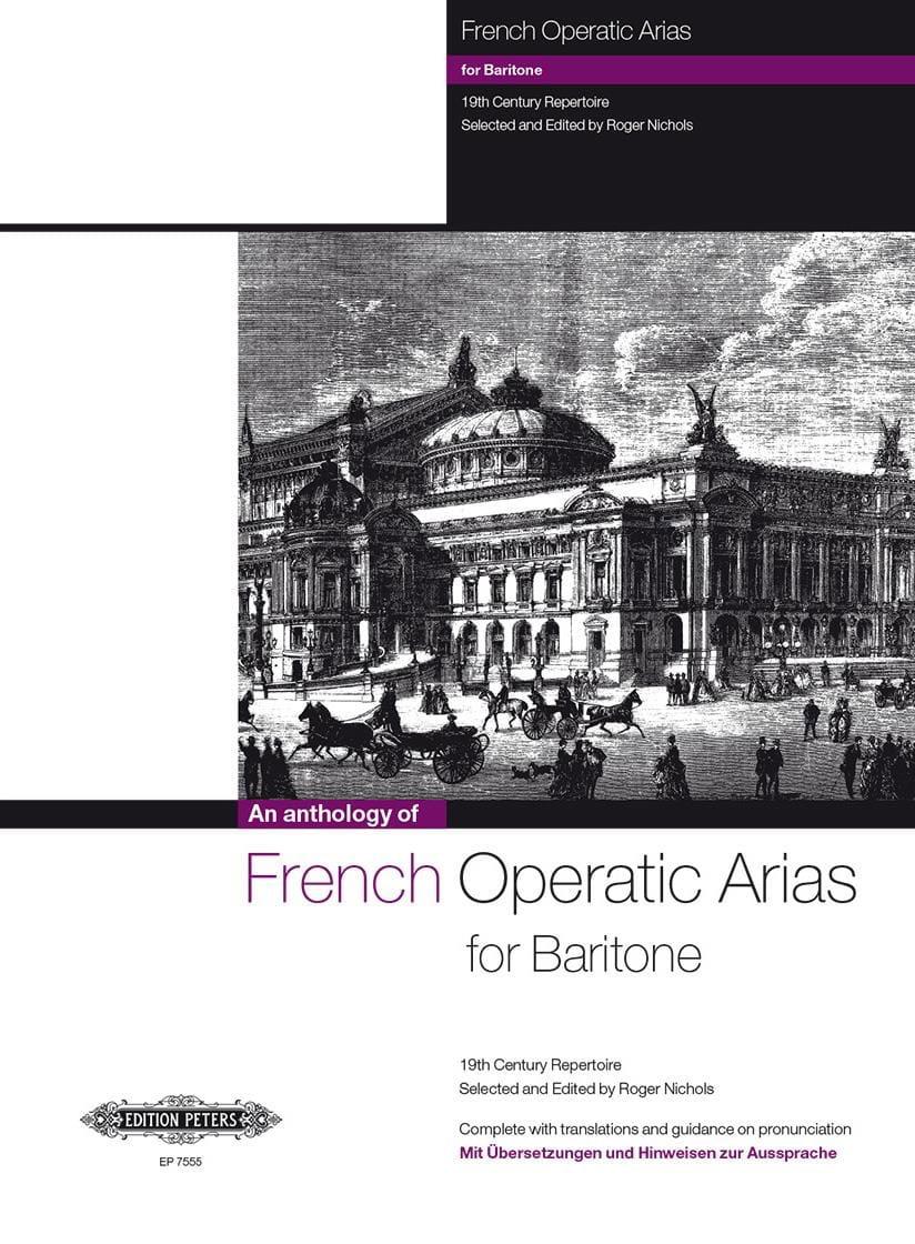 French Operatic Arias Baryton - Partition - laflutedepan.com