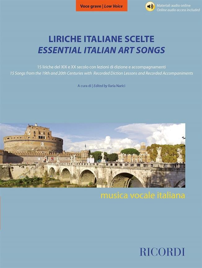 Liriche Italiabe Scelte - Voix Grave - laflutedepan.com