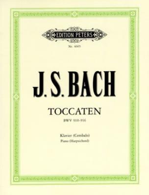 7 Toccatas BWV 910-916 BACH Partition Piano - laflutedepan