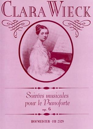 Soirées Musicales Opus 6 Clara Schumann Partition Piano - laflutedepan