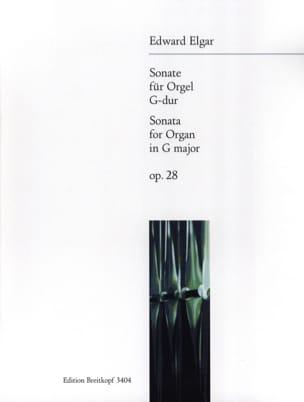 Sonate Opus 28 ELGAR Partition Orgue - laflutedepan