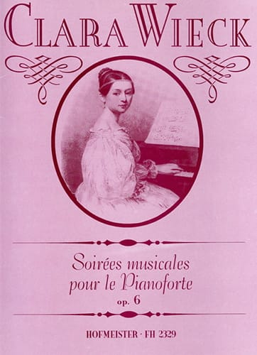 Soirées Musicales Opus 6 - Clara Schumann - laflutedepan.com