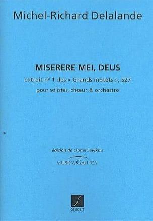 Miserere Mei, Deus. S 27 Michel-Richard de Lalande laflutedepan