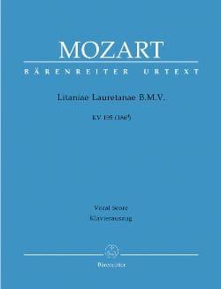 Litaniae Lauretanae B.M.V. K 195 186d - MOZART - laflutedepan.com