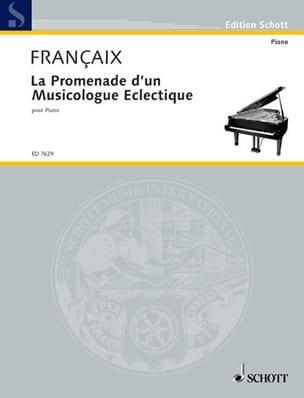 La Promenade d'un Musicologue Eclectique 1987 FRANÇAIX laflutedepan