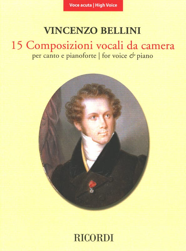 15 Composizioni Vocali da Camera - Voix Haute - laflutedepan.com