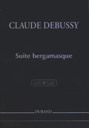 Suite Bergamasque DEBUSSY Partition Piano - laflutedepan
