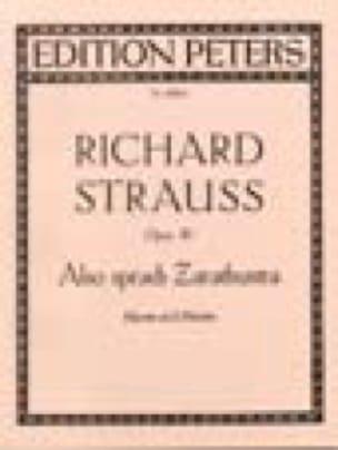 Also Sprach Zarathustra Op. 30 - Richard Strauss - laflutedepan.com