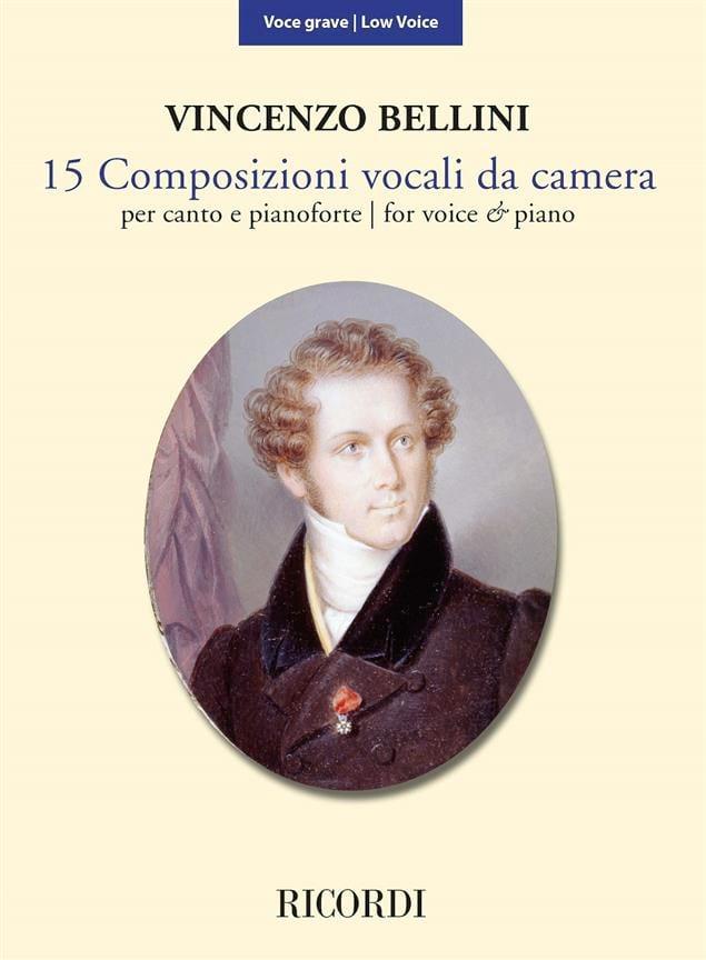 15 Composizioni Vocali da Camera - Voix Grave - laflutedepan.com