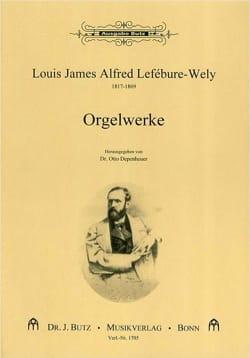 Orgelwerke - LEFÉBURE-WÉLY - Partition - Orgue - laflutedepan.com