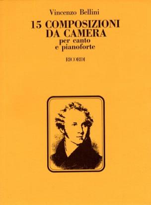15 Composizioni Da Camera BELLINI Partition Mélodies - laflutedepan