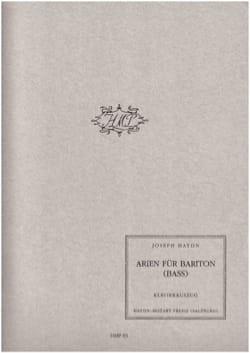 Arien Für Bariton Bass HAYDN Partition Opéras - laflutedepan