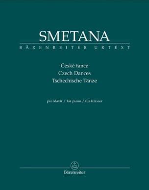 Danses Tchèques SMETANA Partition Piano - laflutedepan