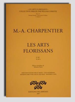 Les Arts Florissans. H 487 et 487a CHARPENTIER Partition laflutedepan