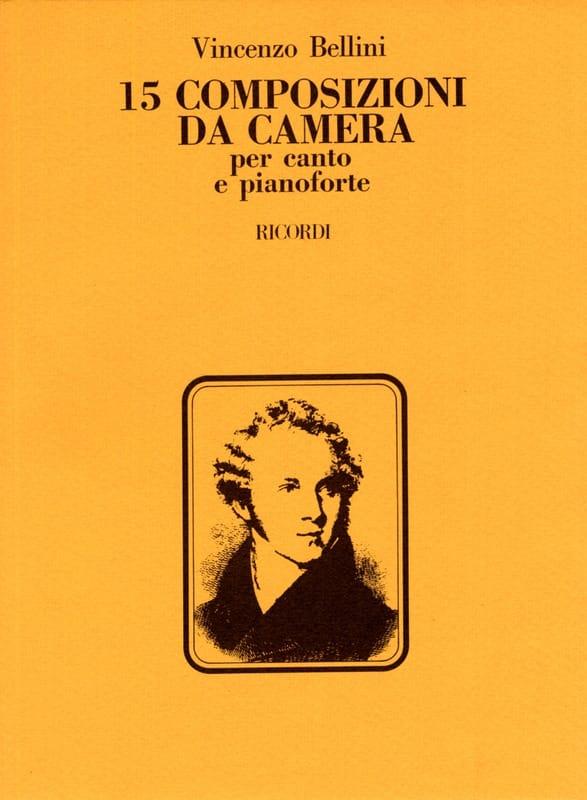 15 Composizioni Da Camera - BELLINI - Partition - laflutedepan.com
