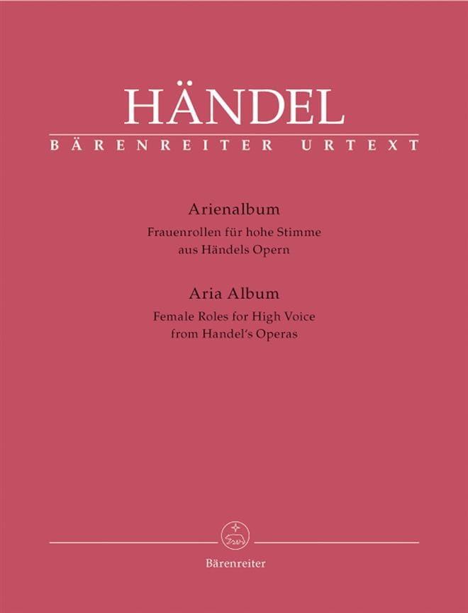 Arienalbum Frauenrollen Für Hohe Stimme - HAENDEL - laflutedepan.com